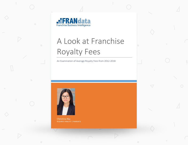 An Examination of Average Royalty Fees from 2012-2018